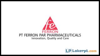 Lowongan Kerja PT Ferron Par Pharmaceuticals