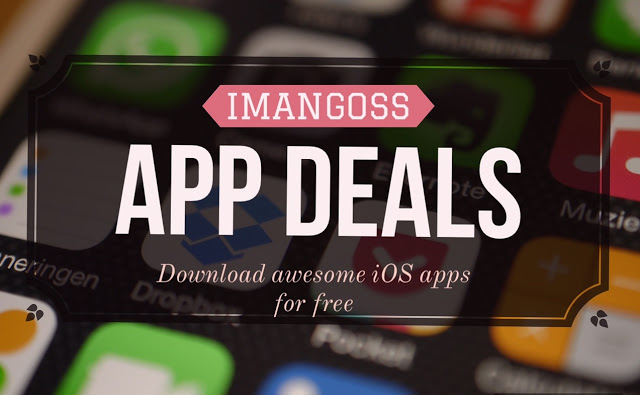 we bring you a daily app deals for you to download these awesome paid iOS apps for iPhone/iPad for free for limited time because we don't know when their price could go up in the App Store. So once you download the free app from the list, you can use it forever.
