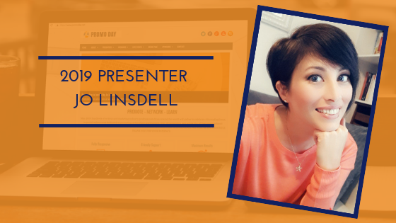 Introducing Promo Day 2019 presenter Jo Linsdell #PromoDay2019 #PromoDayEvent