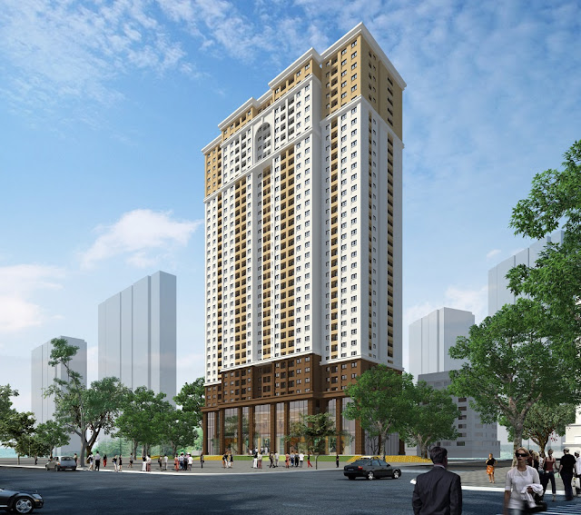 Phối cảnh dự án Eco Dream City