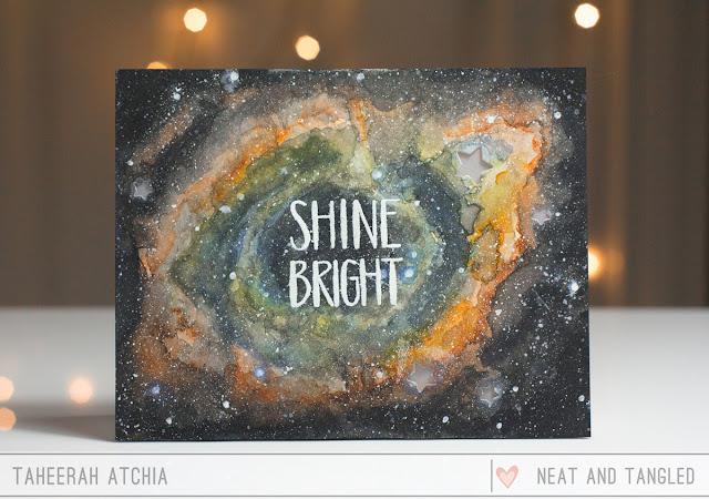Light-Up Nebula Card by Taheerah Atchia