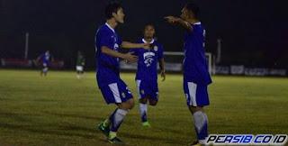 Persib Menang 2-1 atas PS BP Batam