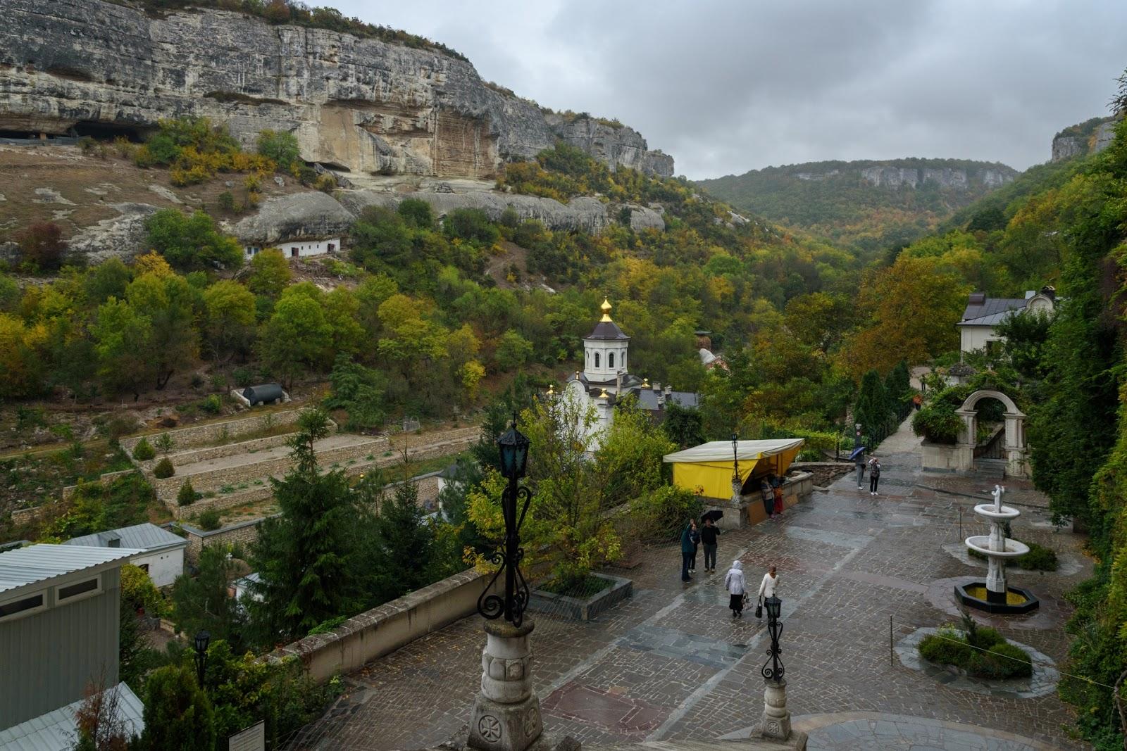 Пещерный монастырь в Крыму