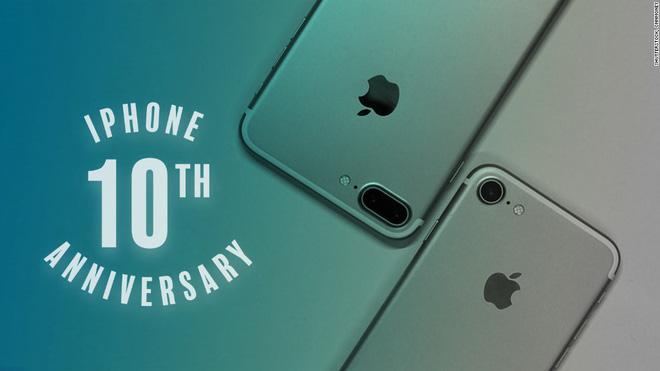 iPhone đánh dấu hành trình 10 năm kể từ đợt bán hàng đầu tiên.