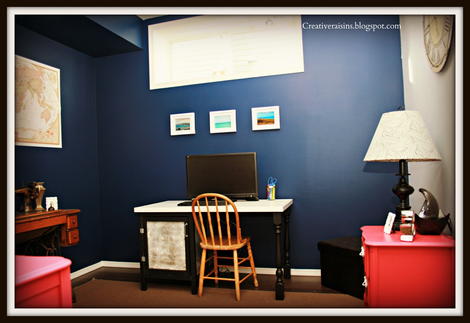Office Craft Room Makeover