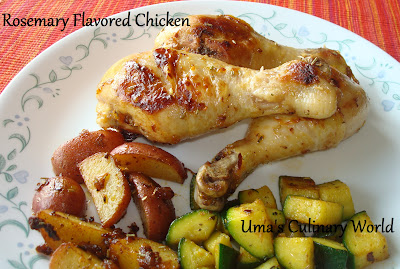 Roasted Garlic Rosemary chicken