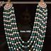 Emerald Pearls Multi Beads Mala