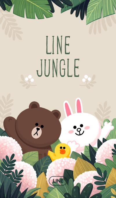 LINE 热带雨林