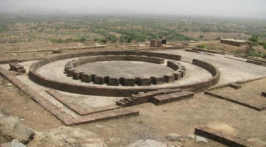 Viratnagar: structures of Mauryan, Mughal & Rajput periods