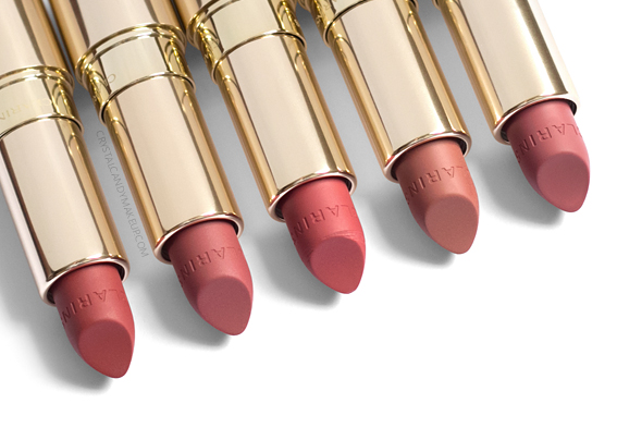 Clarins Joli Rouge Velvet Lipsticks Review 705v 731v 752v 758v 759v