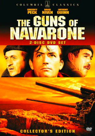 Poster of The Guns of Navarone 1961  720p Dual Audio In Hindi English ESub