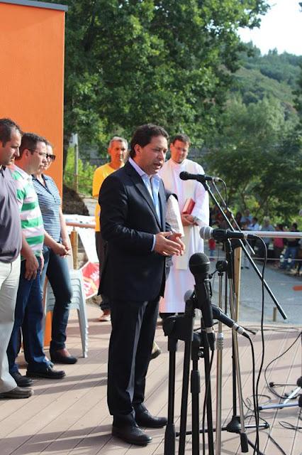 Presidente na Inauguração Zona Lazer Rerreirós do Dão