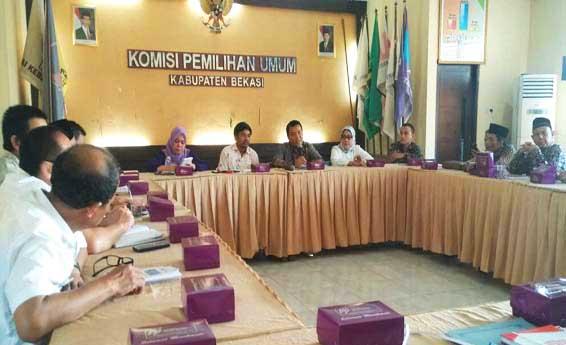 Ke KPU Bekasi, KPU Lebak: Tanpa Gugatan dan Partisipasi Tinggi