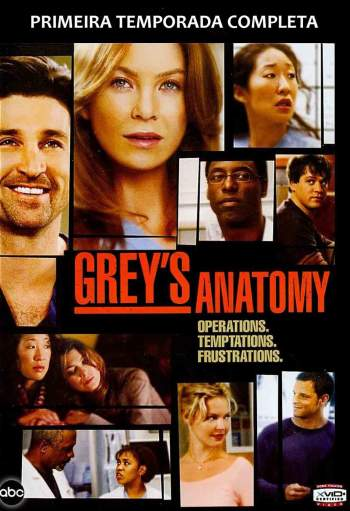 Grey's Anatomy 1ª Temporada Torrent - WEB-DL 720p Dual Áudio