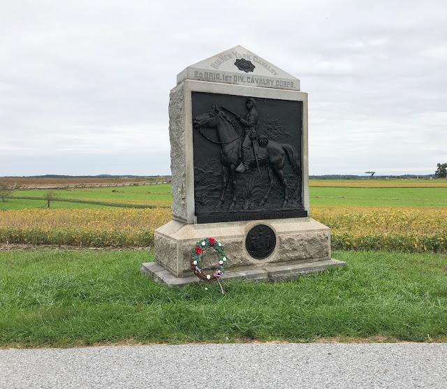 Monument at Gettysburg Battlefields