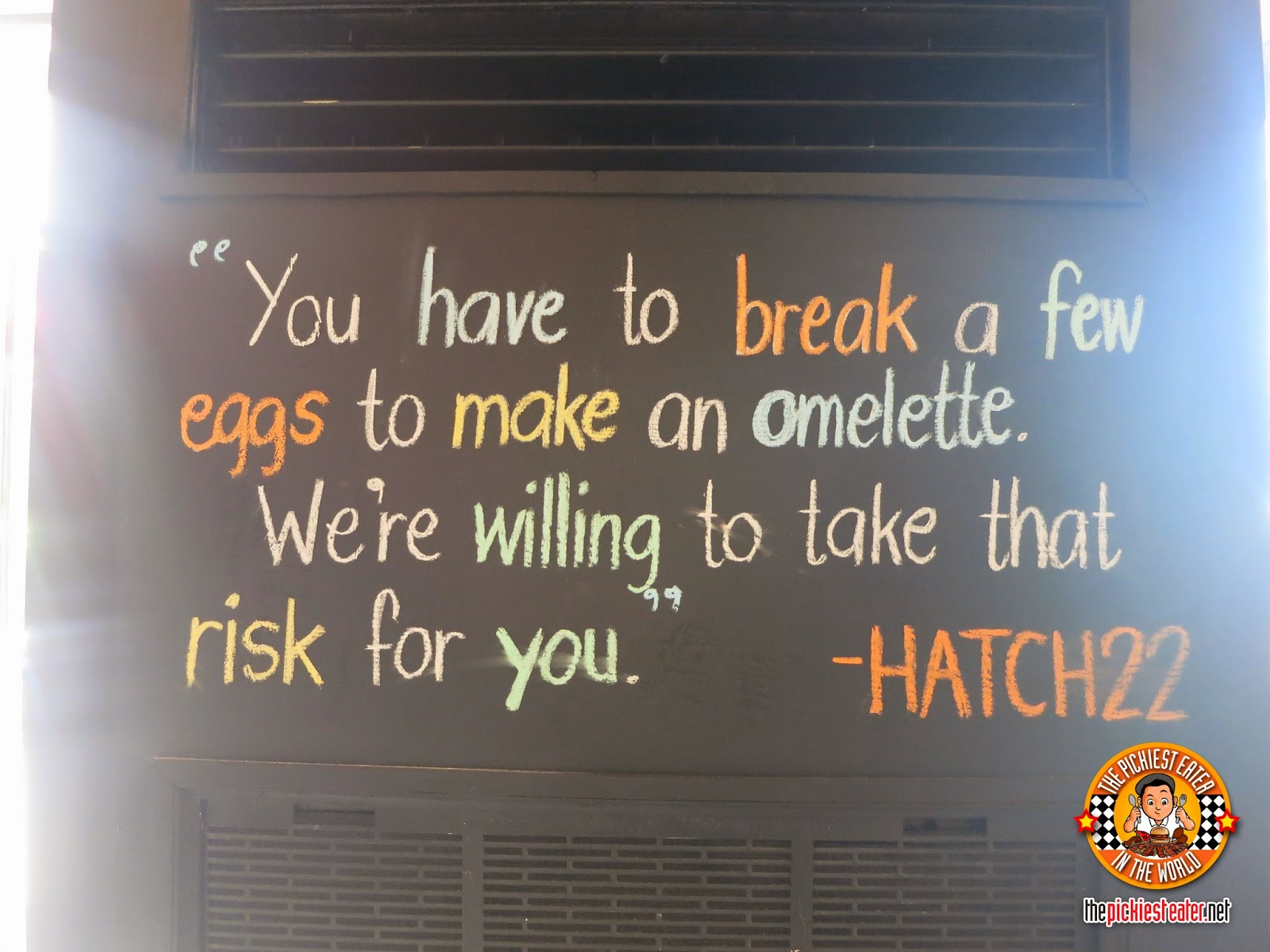 hatch 22 motto