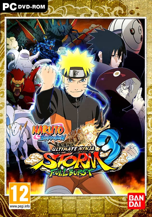 Download Naruto Shippuden Ultimate Ninja Storm 3 full version PC game