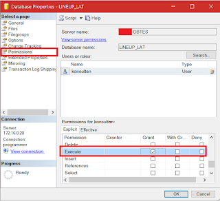 Giving Execute Stored Procedure Custom User in SQL Server