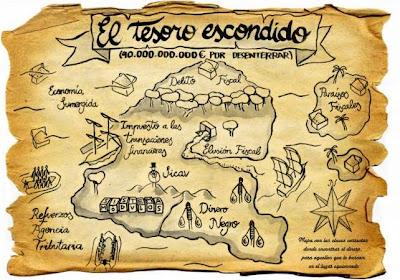 Resultado de imagen de mapas del tesoro reales