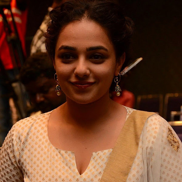 Nithya Menon latest photos from 100 Days of Love Movie Press Meet