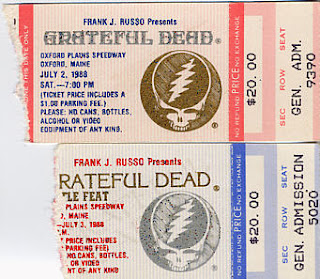 Grateful Dead, July 2 and 3, 1988