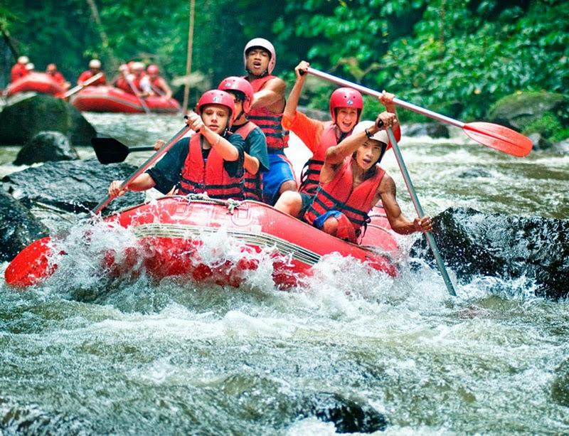 Wisata di Bali Arung Jeram di Sungai Ayung