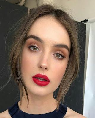 maquillaje juvenil para navidad