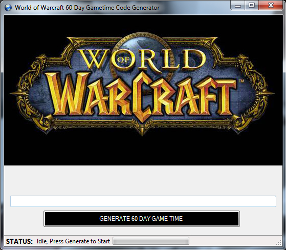 wow game card key generator