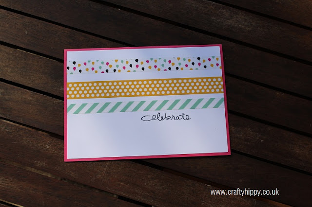 Stampin' Up! Endless Birthday Wishes and It's My Party Washi Tape