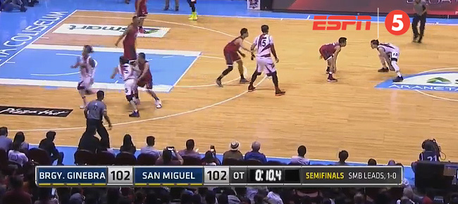 Marcio Lassiter Tips in the Game-Winner in Overtime Against Ginebra (VIDEO)