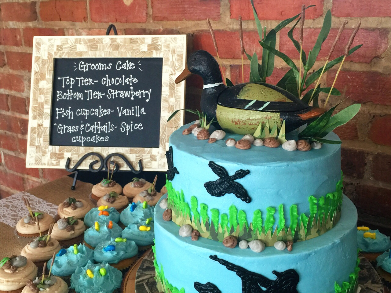 Duck Hunting Cake Decorating Kit : Simply Southern: Stephanie & Michael s Rehearsal Dinner ...