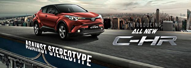 Toyota CHR Yang Penuh Sportif