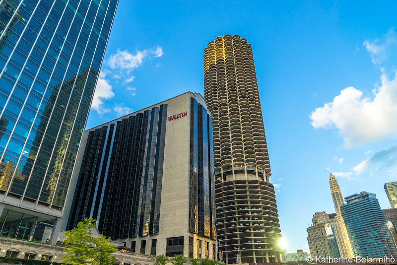 Marina Tower Corn Cob Girls' Weekend in Chicago