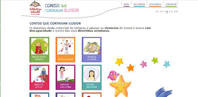 http://bibliotecainfantil.fundaciononce.es/gl/home.html