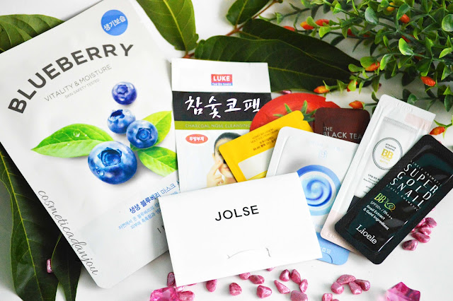 samples mask jolse korean cosmetics