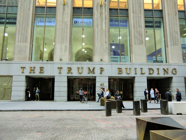 trump building wall street financial district manhattan new-york