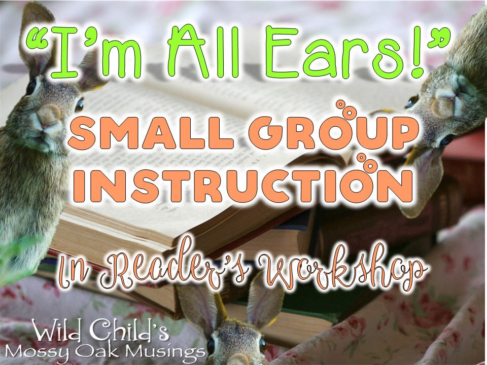 Im All Ears Small Group Instruction In Readers Workshop Wild