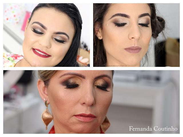 Maquiagem Fernanda Coutinho