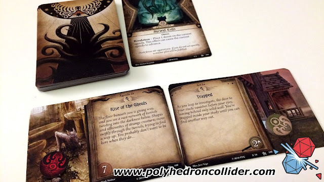 Arkham Horror Card Game LCG review scenario