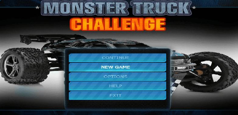 تحميل لعبة تحطيم السيارات Monster Truck Challenge للكمبيوتر برابط مباشر