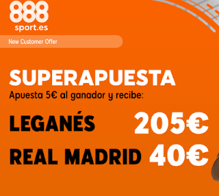 888sport superapuesta liga Leganes vs Real Madrid 15 abril 2019