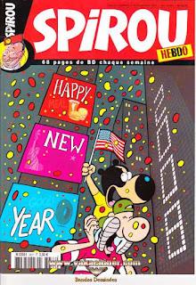 Spirou Hebdo, happy new year, numéro 3637, année 2007
