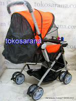 Crater P216 Reversible Handle Standard Baby Stroller