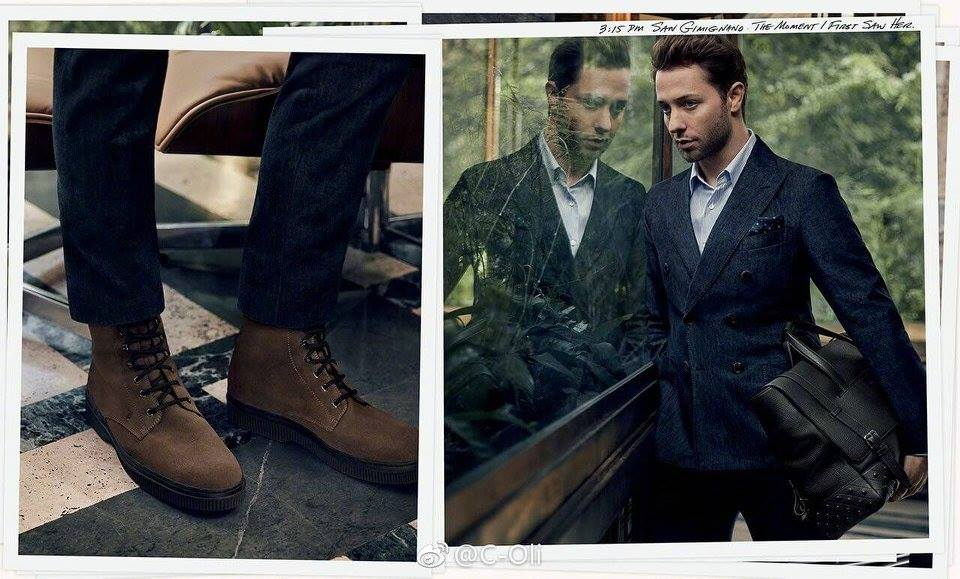 Tod's fall 2017 advertising campaign