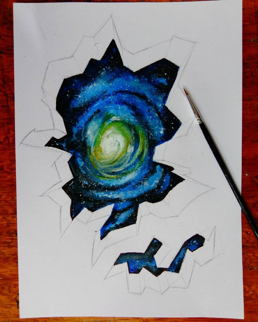 19-The-Universe-wip-João-A-Carvalho-Drawing-and-Painting-3D-Optical-Illusions-see-the-Video-www-designstack-co