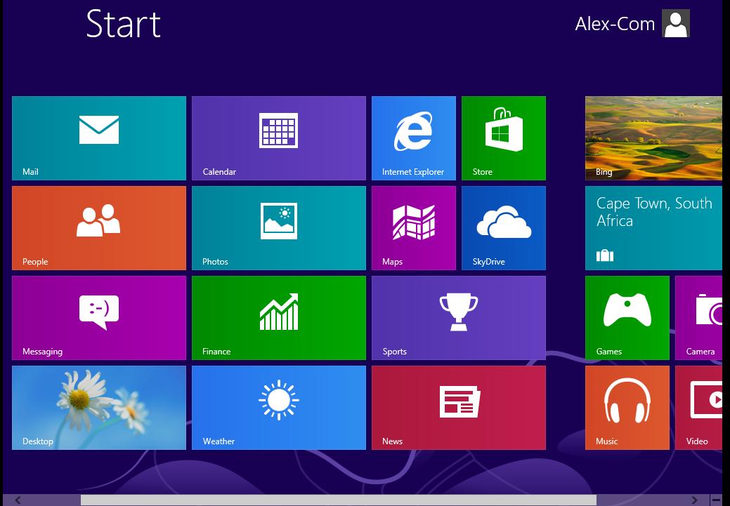 desktop w8