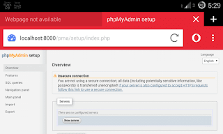 For you lot who are using PC to prepare website using PHP in addition to SQL locally on your estimator mus Indophoneboy How to Setup Integrated Local Web Server on Android amongst PHP in addition to SQL using Esminis Server Apps