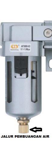 Cara Perawatan Mesin Bagian FRL Unit (Filter Regulator Lubricasi)