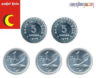 Paket Koin 13 Rupiah C