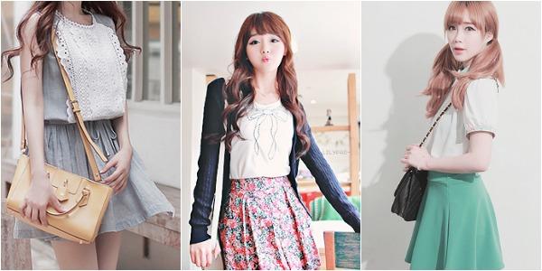 Estes looks são mais parecidos com os looks das cantoras K-Pop